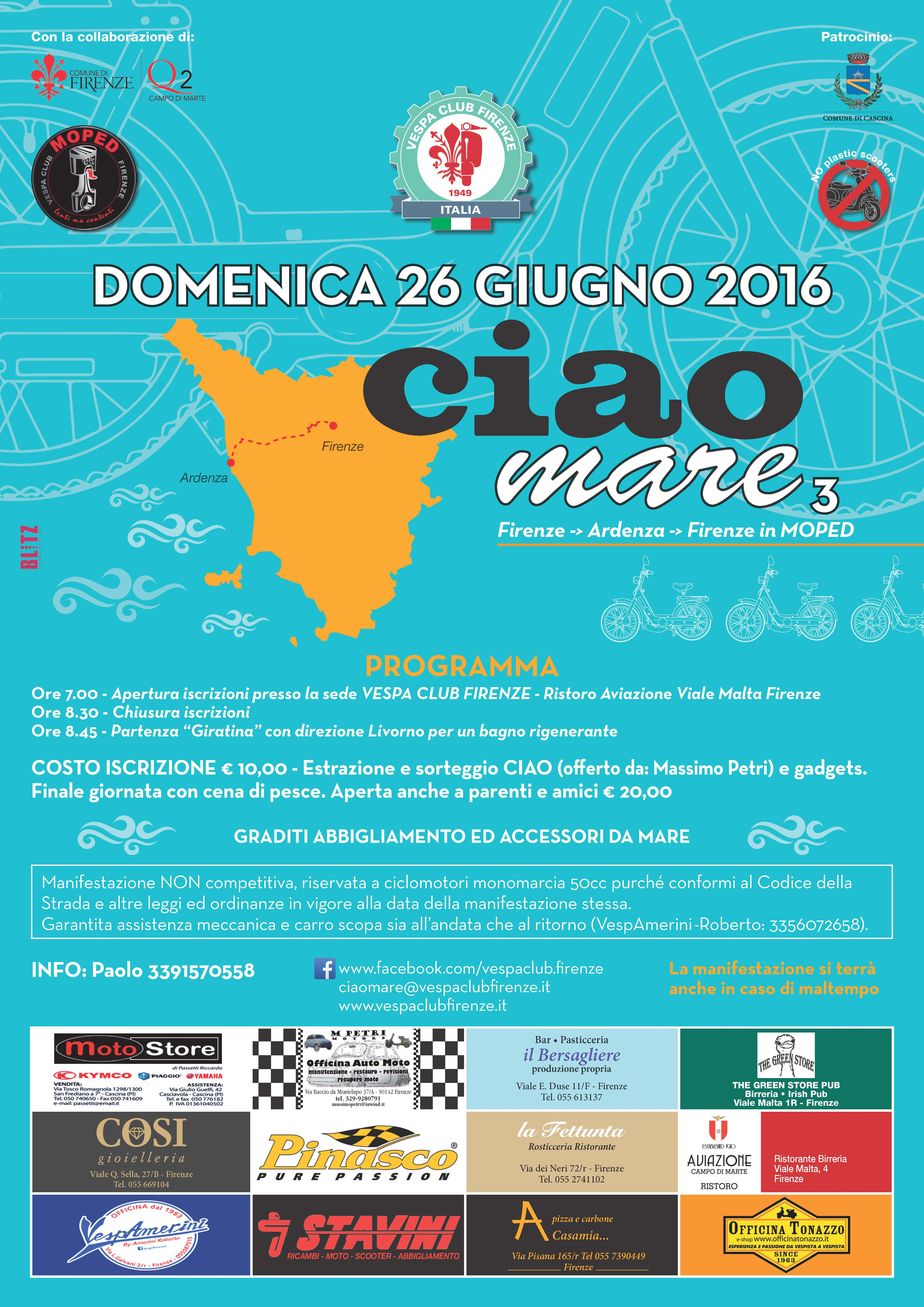 poster Ciao Mare 3c